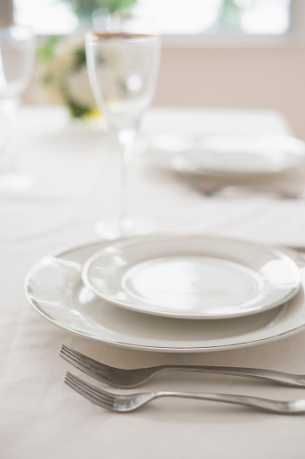 Place Setting「Close up of place setting in restaurant」:スマホ壁紙(15)