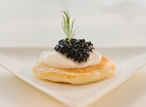 Appetizer「Close up of caviar appetizer」:スマホ壁紙(12)