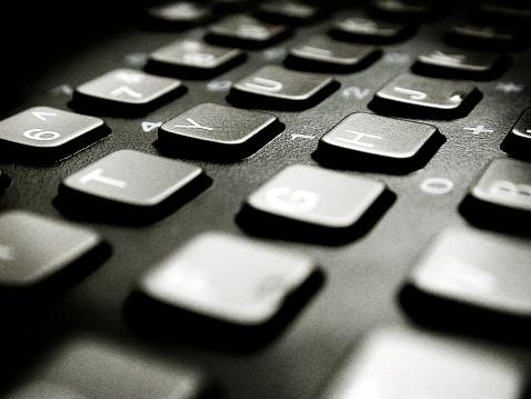 Computer Keyboard「Close up of a keyboard」:スマホ壁紙(1)