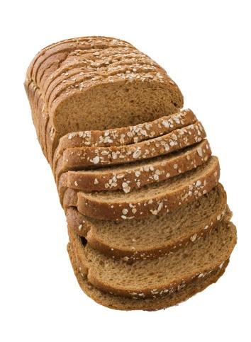 Brown Bread「Close up of sliced loaf of bread」:スマホ壁紙(18)