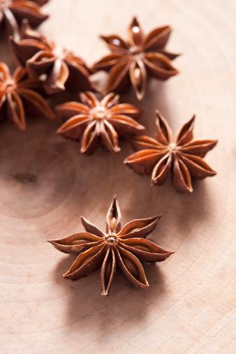 Star Anise「Close up of star anise」:スマホ壁紙(6)