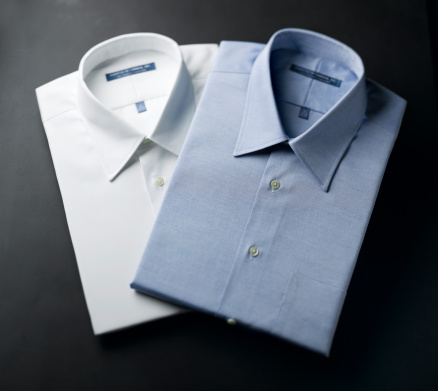 Button Down Shirt「Close up of a mens shirts」:スマホ壁紙(18)