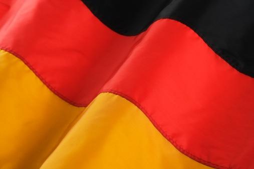 Patriotism「Close up of flag of Germany」:スマホ壁紙(10)