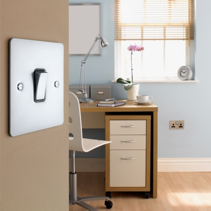 Light Switch「Close up of light switch in office」:スマホ壁紙(7)