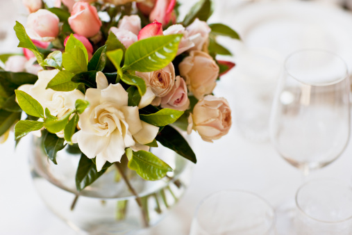 Place Setting「Close up of bridal bouquet」:スマホ壁紙(6)