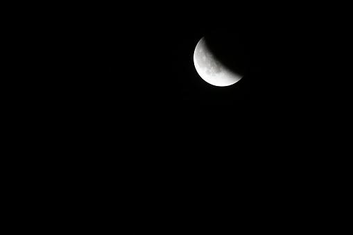皆既月食「Super moon total lunar eclipse seen in Bloomington, Indina」:スマホ壁紙(13)