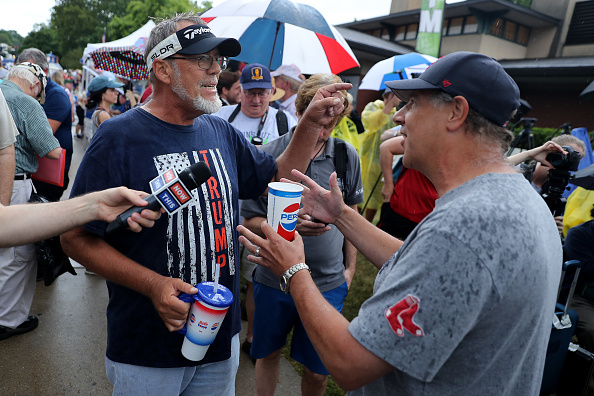 Chip Somodevilla「Presidential Candidates Hit The Soapbox At The Iowa State Fair」:写真・画像(16)[壁紙.com]