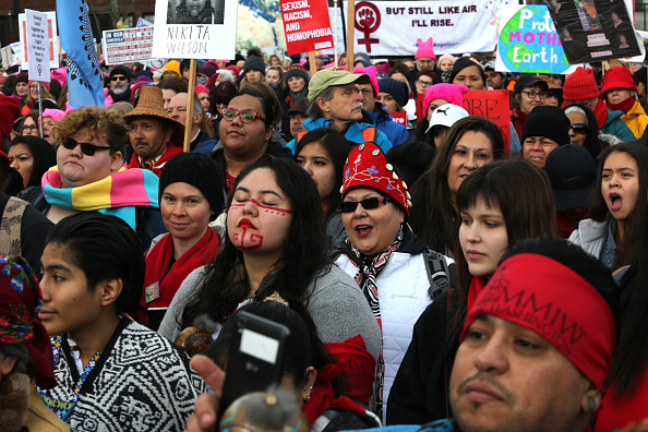 Indigenous Culture「Huge Crowds Rally At Women's Marches Across The U.S.」:写真・画像(19)[壁紙.com]