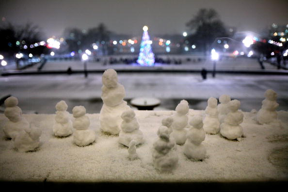 雪だるま「Pelosi Presides Over Capitol Christmas Tree Lighting Ceremony」:写真・画像(2)[壁紙.com]