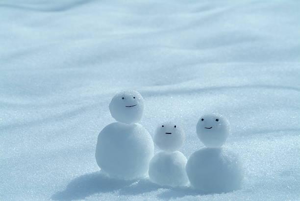 Tiny snowmen:スマホ壁紙(壁紙.com)