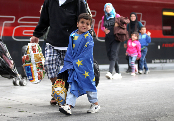 Europe「Migrants Arrive In Germany Following Ordeal In Hungary」:写真・画像(15)[壁紙.com]