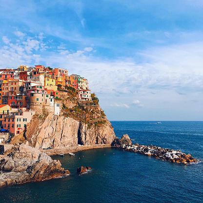 Cinque Terre「Manarola, Italy」:スマホ壁紙(16)