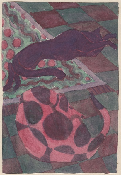 Rug「Sleeping Dog And Cat」:写真・画像(18)[壁紙.com]