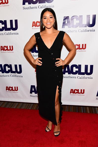 ノースリーブワンピース「ACLU SoCal Hosts Annual Bill Of Rights Dinner - Arrivals」:写真・画像(18)[壁紙.com]