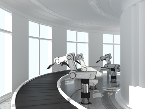 Robotic Arm「Conveyor」:スマホ壁紙(12)