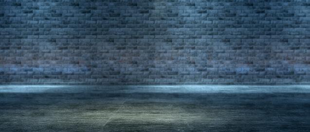 Brick Wall「Panoramic brick wall background, selective focus, grain」:スマホ壁紙(10)