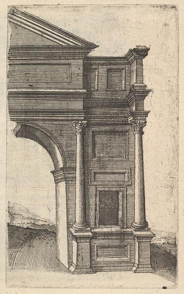 Etching「Half Of An Arch [Porta Antonae] From The Series Ruinarum Variarum Fabricarum Delineatione」:写真・画像(15)[壁紙.com]