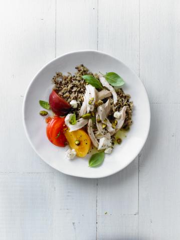 Vinaigrette Dressing「Chicken Salad With Orange-Pistachio VInaigrette」:スマホ壁紙(19)