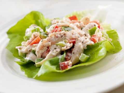 Wrap Sandwich「Chicken Salad Lettuce Wrap」:スマホ壁紙(14)