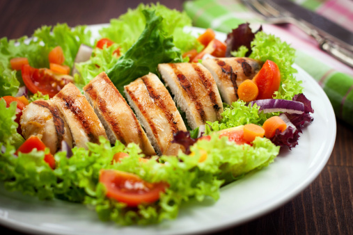 Grilled Chicken Breast「Chicken Salad」:スマホ壁紙(14)