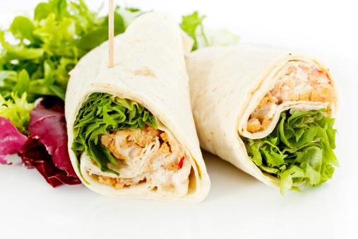 Tortilla - Flatbread「Chicken Salad Sandwich Wrap」:スマホ壁紙(18)