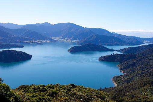New Zealand「Beautiful Kenepuru Sound, Marlborough Sounds, New Zealand」:スマホ壁紙(9)
