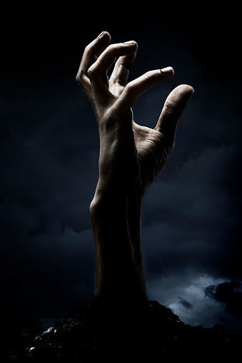 zombie「Zombie hand」:スマホ壁紙(2)