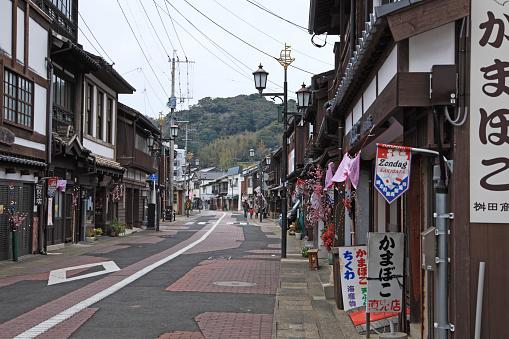 和風「Sakigata Town, Hirado, Nagasaki, Japan」:スマホ壁紙(18)