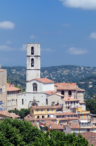 Grasse「View over old Town Grasse」:スマホ壁紙(12)