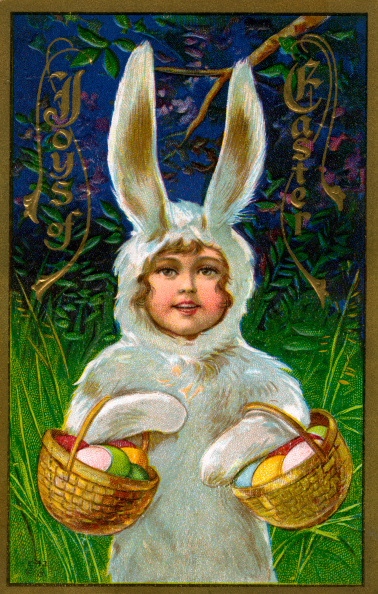 Easter Basket「Child In A Bunny Suit」:写真・画像(0)[壁紙.com]