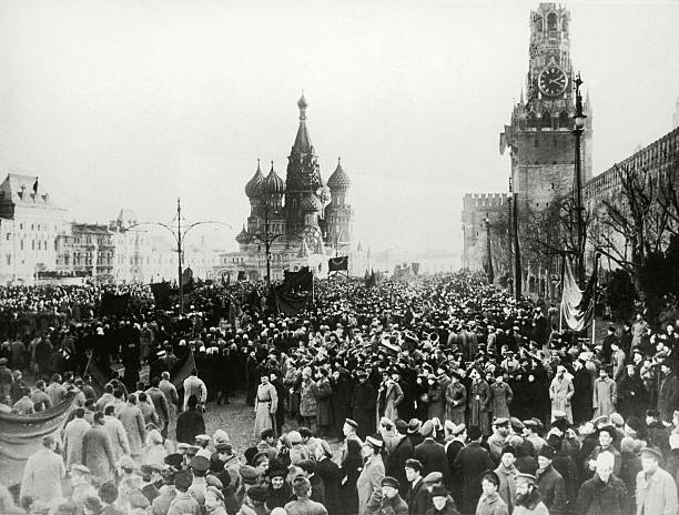 Moscow 1917, The picture shows the Kreml in Moscow-Uprisings during the revolution, Photograph, October 1917:ニュース(壁紙.com)