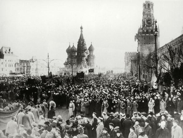 October「Moscow 1917, The picture shows the Kreml in Moscow-Uprisings during the revolution, Photograph, October 1917」:写真・画像(2)[壁紙.com]