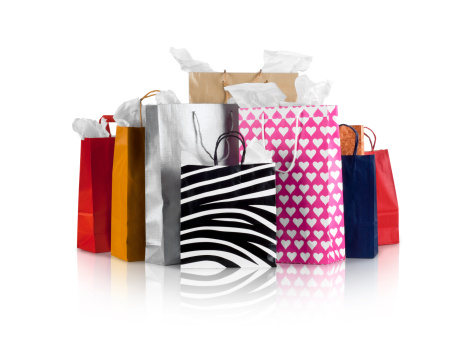Paper Bag「Several different various shopping bags」:スマホ壁紙(14)