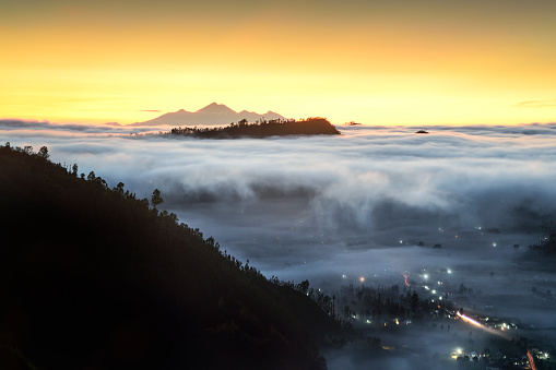 Mt Agung「mount Rinjani view, Pinggan, Bali, Indonesia」:スマホ壁紙(9)