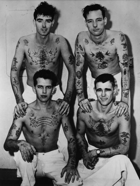 HMS Belfast「Tattoo Men」:写真・画像(3)[壁紙.com]