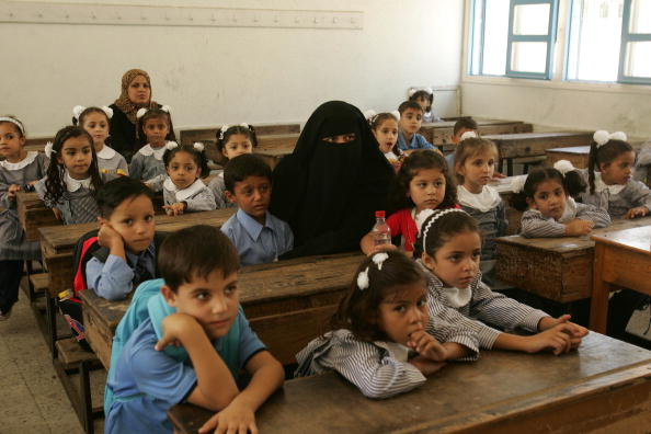 First Day Of School「Palestinian Students Start New Academic Year」:写真・画像(13)[壁紙.com]