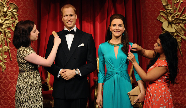 Madame Tussauds London「Madame Tussauds Unveil Updated Waxworks Of The Duke And Duchess Of Cambridge」:写真・画像(2)[壁紙.com]