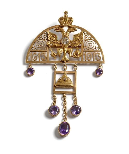 Pendant「Pendant to the 300th Anniversary of the Romanov Dynasty, 1913」:写真・画像(14)[壁紙.com]