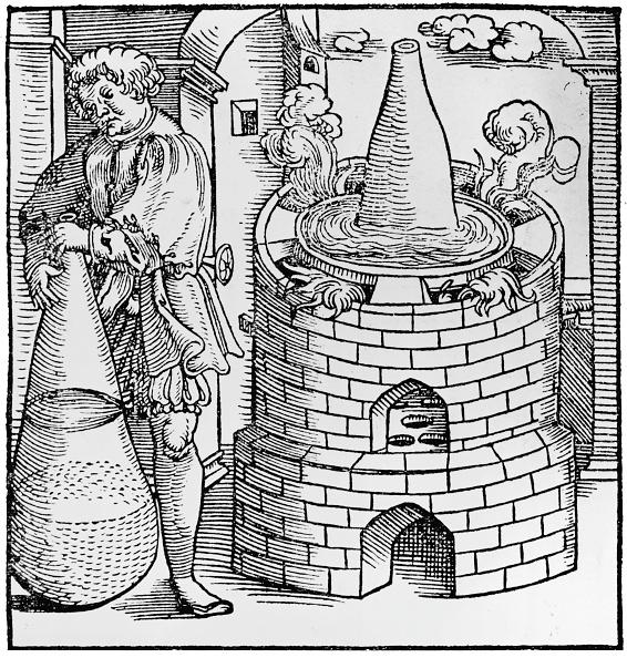 Woodcut「Alchemist At Work」:写真・画像(6)[壁紙.com]