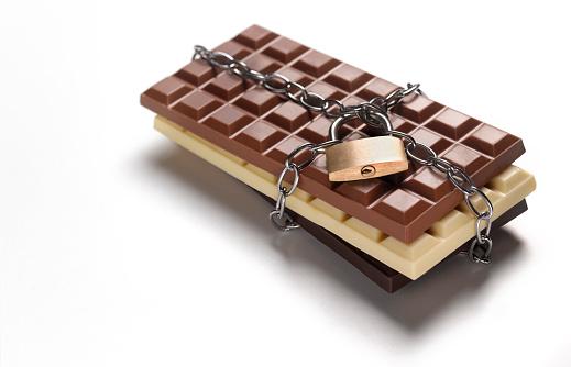 Milk Chocolate「Lock up your chocolate dieting forbidden addiction」:スマホ壁紙(14)