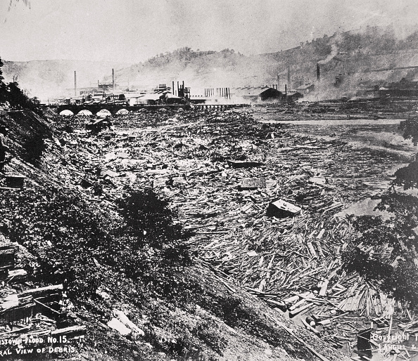 Pennsylvania「The Johnstown Flood Disaster Pennsylvania USA 31 May 1889」:写真・画像(19)[壁紙.com]