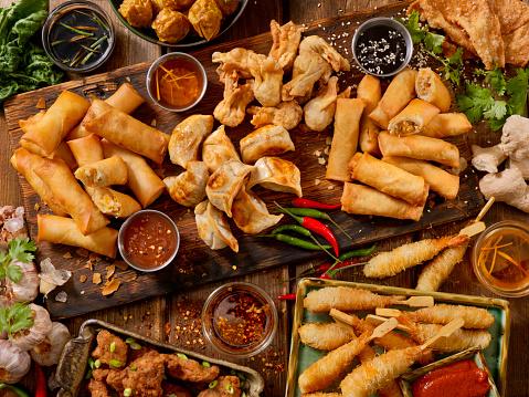 Tray「アジア風の前菜」:スマホ壁紙(4)