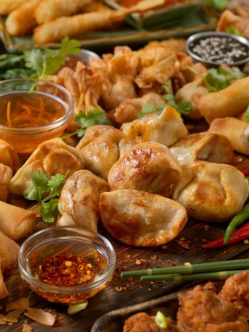 Tray「アジア風の前菜」:スマホ壁紙(6)