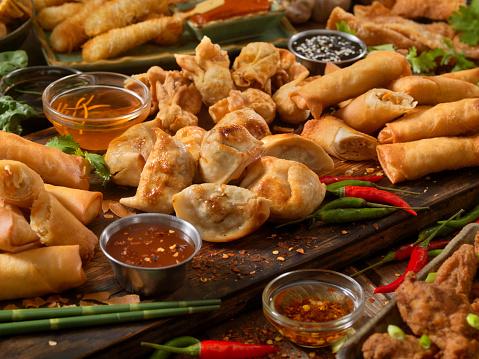 Tray「アジア風の前菜」:スマホ壁紙(7)