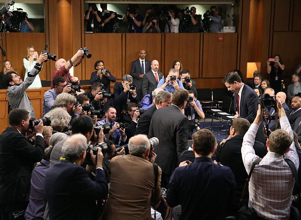 Hart Senate Office Building「James Comey Testifies At Senate Hearing On Russian Interference In US Election」:写真・画像(18)[壁紙.com]