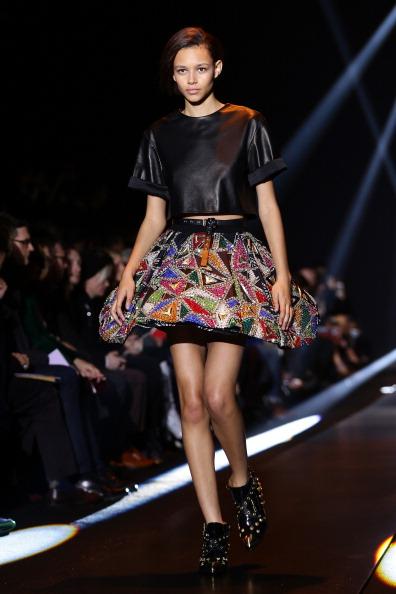 Flared Skirt「Fausto Puglisi - Runway - Milan Fashion Week Womenswear Autumn/Winter 2014」:写真・画像(17)[壁紙.com]