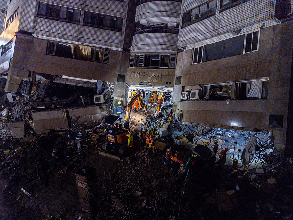 Hualien County「Aftershocks Rattle Taiwan Tourist City After Powerful Quake」:写真・画像(5)[壁紙.com]