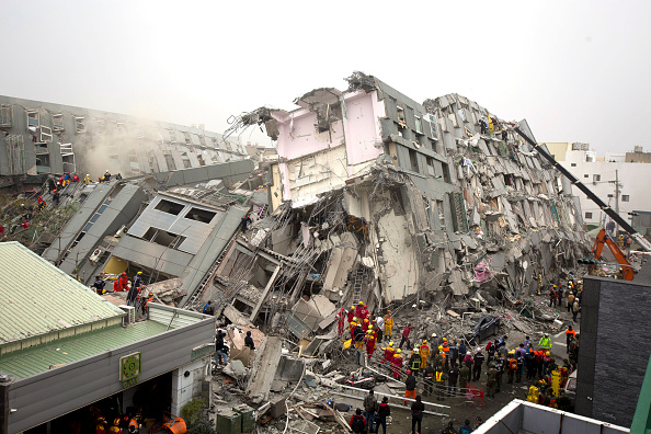Destruction「Earthquake Hits Southern Taiwan」:写真・画像(7)[壁紙.com]