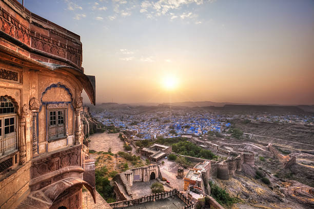 Jodhpur - Blue City (HDR):スマホ壁紙(壁紙.com)