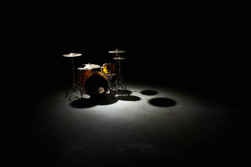 Cymbal「Drum kit, elevated view」:スマホ壁紙(13)